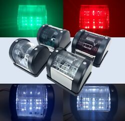 Marine Led Navigation Lt Green Starboard Red Port White Stern And Masthead