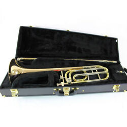 C.g. Conn Model 88h And039symphonyand039 Professional Tenor Trombone Mint Condition