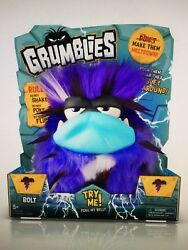 Pomsies Grumblies Bolt Plush Interactive Toy -andnbsp40 Unique Reactions And Sounds