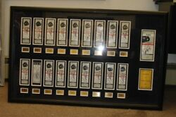 Alex Rodriguez Autographed 2007 'march To 500 Full Hr Ticket Display - 19 Sigs
