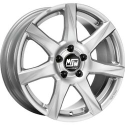 Msw 77 Alloy Rims Winter Tyres Winter Wheels 16 Inch Silver Kumho