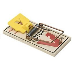Victor Mouse Trap M325 Holdfast Snap Trap 72 Traps Yellow Pedal