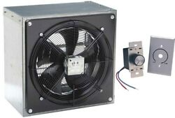 12 Exhaust Fan - Axial - 1208 Cfm - 120 Volt - 1 Phase - Variable Speed Control