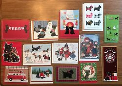 14 Scottie DogScottish Terrier Christmas Cards (14 Designs)