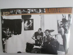 U2 Rattle And Hum Japan Promo Poster From Polystar In 1988 Bono Edge