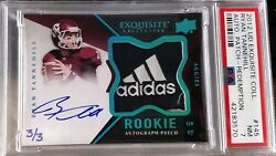 2012 Exquisite Collection Ryan Tannehill Rc Auto Patch 145 Psa 7 Nm 3/3