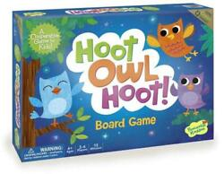 Cooperative Game - Hoot Owl Hoot - Peceable Kingdom Free Shipping