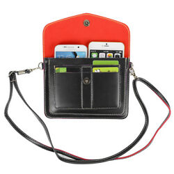 Women Leather Shoulder Bag Phone Wallet Clutch Purse Case For Samsung Galaxy S20