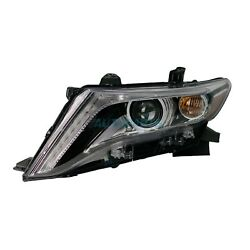 NEW LEFT HEADLIGHT ASSEMBLY HID BULBS FITS 2013-2016 TOYOTA VENZA TO2502227