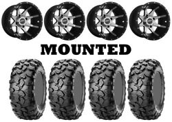 Kit 4 CST Clincher Tires 27x9-1227x11-12 on Sedona Storm Machined Wheels ACT