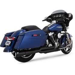 Vance And Hines Black 4.5 Pro-pipe 2-into-1 For 17-19 Tourers