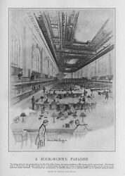 LIBRARY ARCHITECTURE IN 1909 THE NEW YORK PUBLIC LIBRARY A BOOKWORMS PARADISE