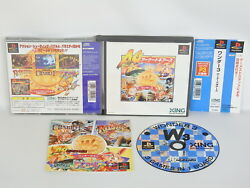 Wonder 3 Ag Arcade Gears Good Condition Ref/050 Free Shipping Playstation Ps1 P1
