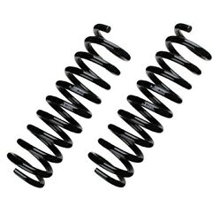 Pair Set of 2 Front Bilstein B3 Coil Springs For W202 Std Susp with Self-Level