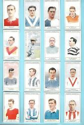 Cigarette Cards.ogdens Tobacco.captains Of A/football Clubs And Cols. Set.1926