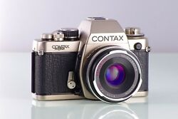 Top Classic Slr Contax S2 60 Years + Ultron 2/40mm Aspherical C/y Premium Set