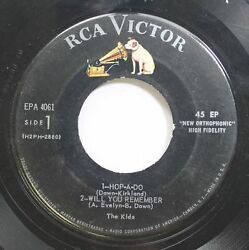 Hear Rockabilly Teen Ep 45 The Kids Hop A Do Will You Remember Smile At Me