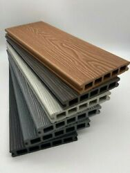 Any Sqm 4 Colours Of Wpc Composite Decking 3.6m Boards + All Fixings/edgings