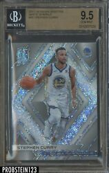 2017-18 Panini Spectra White Sparkle #85 Stephen Curry Warriors 20 BGS 9.5