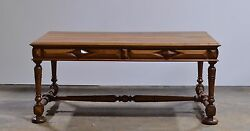 Antique French Renaissance Old World Desk W/ Drawers