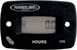 Hardline Resettable Hour Meter/tachometer With Log Book Hr-8067-2