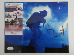 Kanye West Signed 8x10 Photo College Dropout Jsa Proof