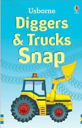 Trucks And Diggers Snap Card Game - Usborne Free Shipping