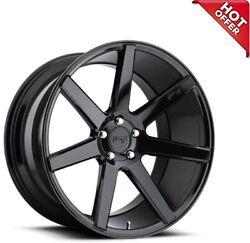 Fit Charger 20 Staggered Niche Wheels M168 Verona Gloss Black Popular Rims