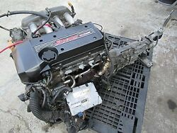 Toyota Altezza RS200 SXE10 AE86 3SGE Beams MT Super Charger Engine motor bLITZ