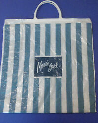 Vintage Marvin Oreck Department Store Shopping Bag From First Mall In U.s.