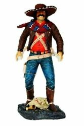 Cowboy Mexican Life Size Statue Western Display Home Decor Prop