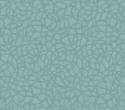 1804-121-04 - Aurora Interlocking pebbles Teal Seafoam 1838 Wallpaper
