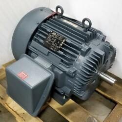 Lincoln 60 Hp 3600 Rpm Tefc 230/460 Volts 364ts Frame 3 Phase Motor Lm19553
