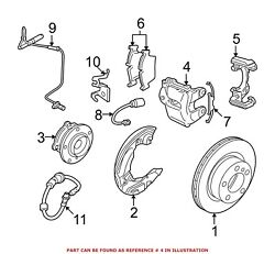 For Bmw Genuine Disc Brake Caliper Front Right 34112283362
