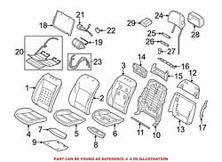 For Bmw Genuine Seat Cover Front 52107319283