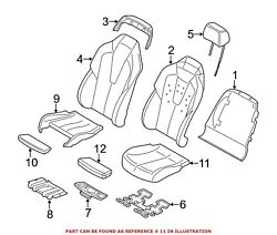 For Bmw Genuine Seat Cover Front Left Rearward 52108066527