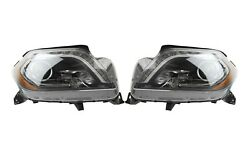 Left And Right Marelli Bi-xenon Headlights Headlamps Pair Set For Mercedes X166