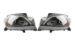 Left And Right Genuine Bi-xenon Headlights Headlamps Pair Set For Mercedes X166