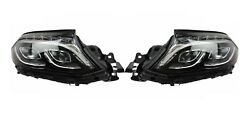 Left And Right Magneti Marelli Dynamic Led Headlights Headlamps Pair Set For W166