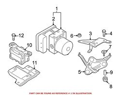 For Bmw Genuine Abs Hydraulic Assembly 34516775394