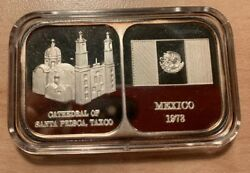 Rosario Resources .999 Fine Silver 1 Oz 1978 Mexico Bar Mint Number 0486/5000