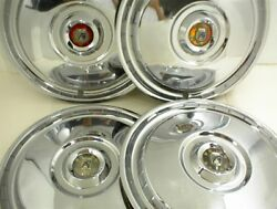 1955 1956 Ford Hubcaps Wheel Covers 15 Crown Victoria Fairlane Wagon