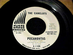 CAMELOTS PocahontasSearchin For My Baby R&B GROUP SOULDOO-WOP Promo 45 Hear