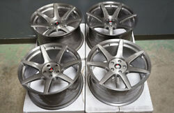 19 Project 6gr7 Brushed Titanium Wheels Ford Mustang S197 S550 Gt Eco Boost
