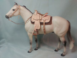 LSQ Traditional 1:9 Scale Western Saddle Set for Breyer Peter Stone Ect...