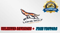 Professional Custom Business Logo Design + Unlimited Revisions + Vector Files