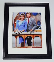 Pat Sajak And Vanna White Autographed Photo Framed And Matted - Wheel Of Fortune