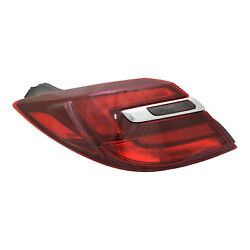 Aftermarket Replacement Driver Side Outer Tail Light Assembly NSF 166-2646