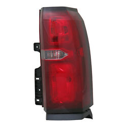 Aftermarket Replacement Passenger Side Tail Light Assembly NSF 166-2697