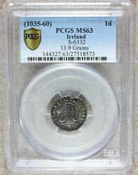 1035-60 Hiberno-Norse Ireland One Penny Coin - PCGS MS 63 - S-6132